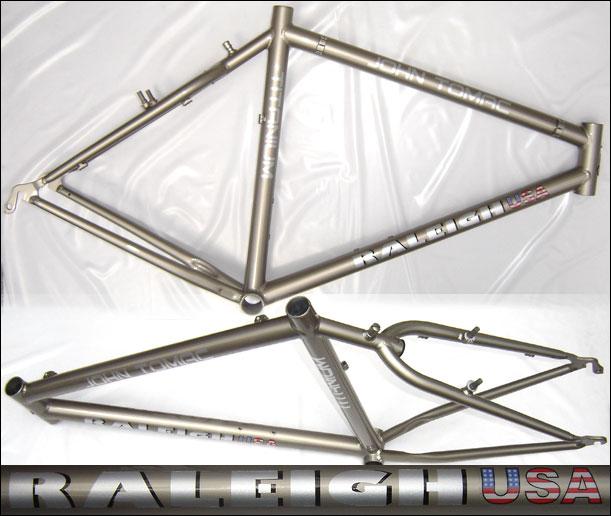 Raleigh titanium