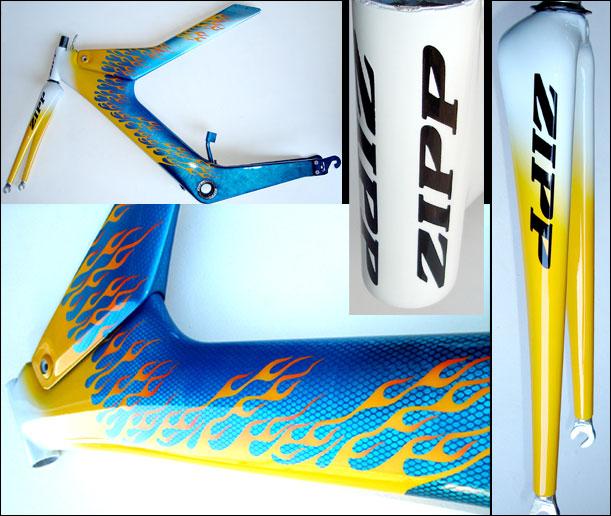 Zipp carbon azul