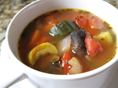 The Bake-Off Flunkie: Roasted Vegetable Soup