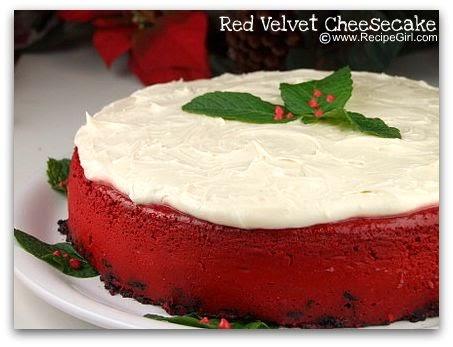Red Velvet Cheesecake : Vanessa s Soda Fountain: Red Velvet Cheesecake