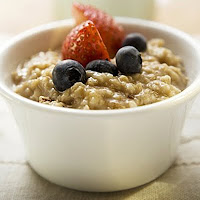 oatmeal and fruit healthy