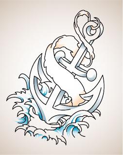 çapa dövmeleri,denizci dövmeleri