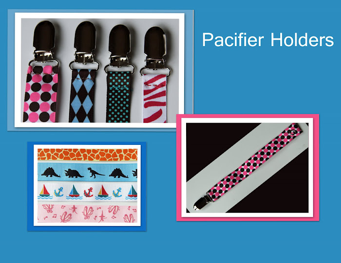 Pacifier Holders!