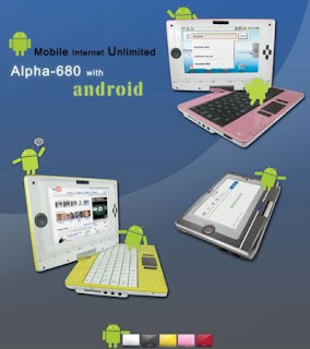 The first Android Netbook - Skytone Alpha 680