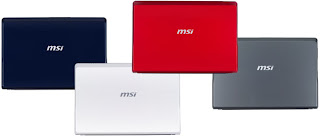 MSI Wind U123 Netbooks