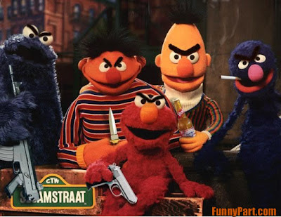 Elmos gang can kill you faster then cancer.