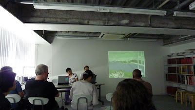 tws on site lab 2009 blog presentation of participants参加者のプレゼン