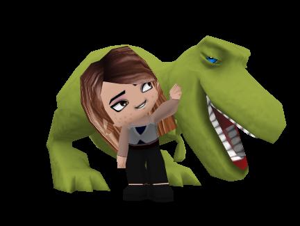 [buddypoke+t+rex]