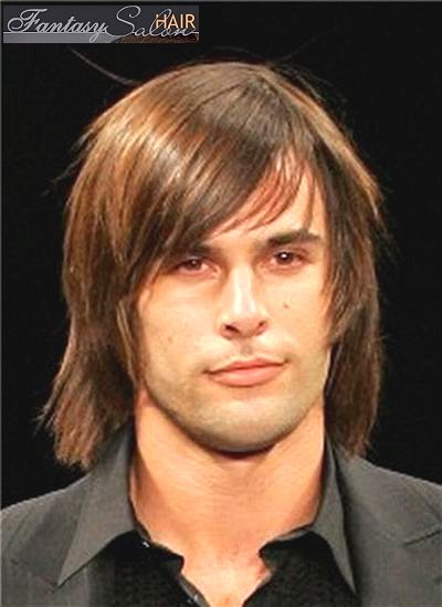 long male hairstyle. long mens hairstyles.
