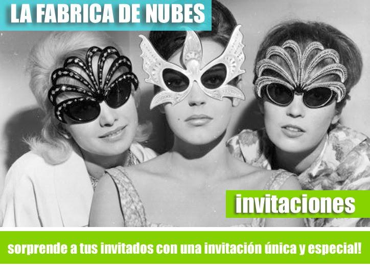 LA FABRICA DE NUBES - INVITACIONES