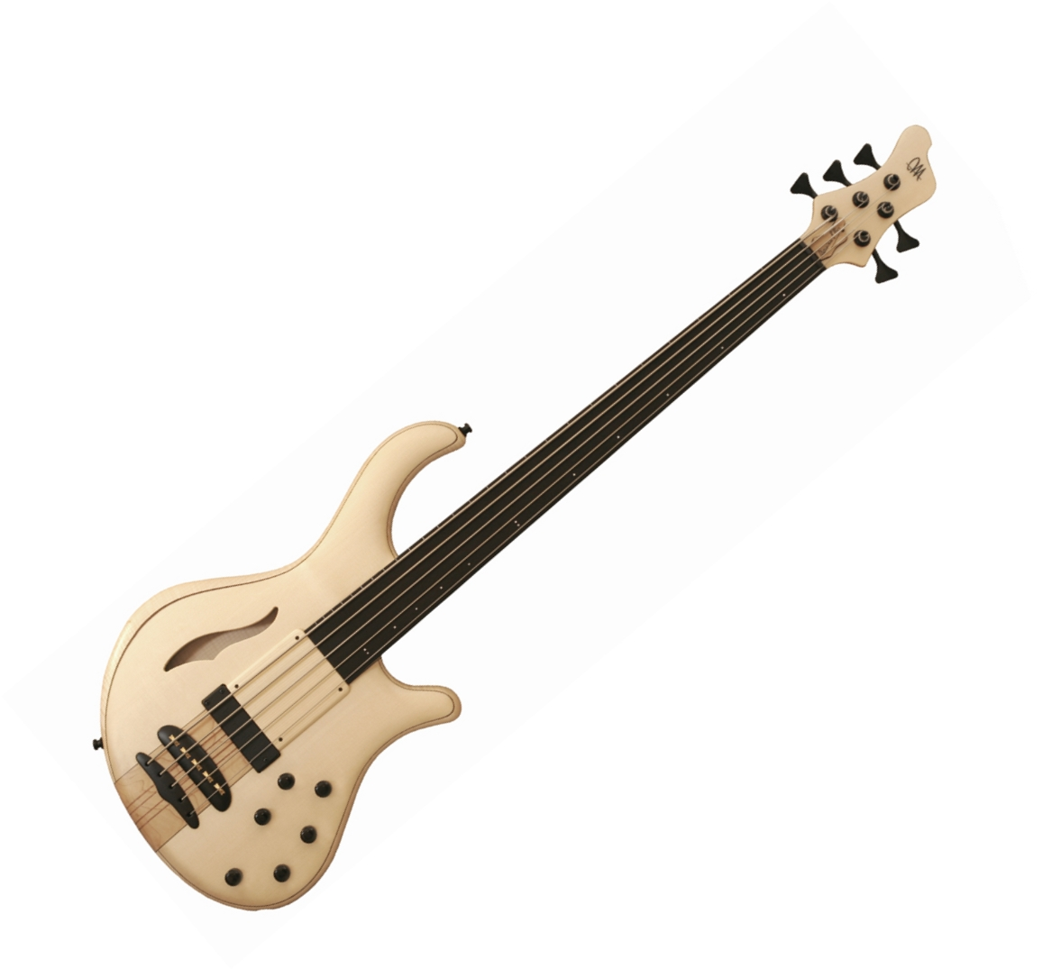 Review for bassist mayones patriot mr fretless 5 string bass