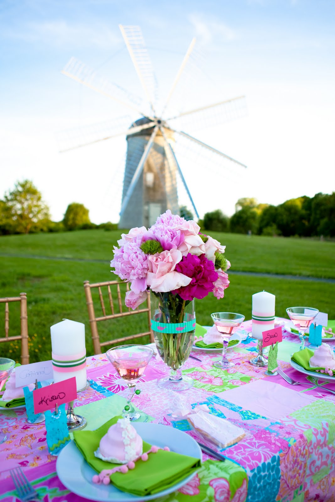 lilly pulitzer bridal shower creating couture parties