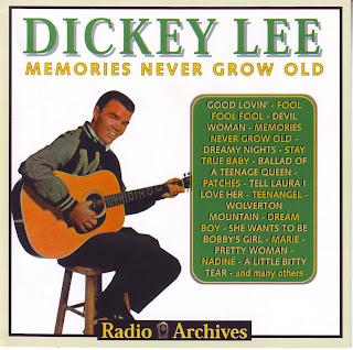 """DICKEY LEE """"MEMORIES NEVER GROW OLD"""""""