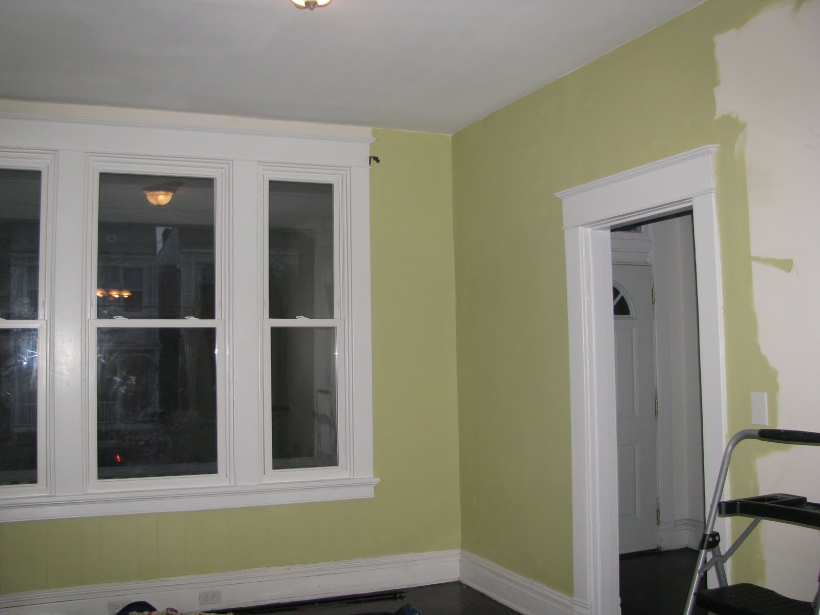 New living room color using valspars olive marinade
