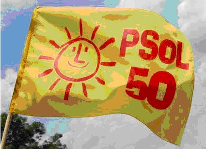 PSOL 50  SOCIALISMO SÃO JOÃO DEL REI - MG