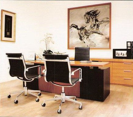 Office Chair & Office Desk