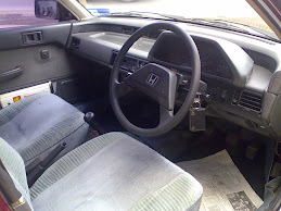 Civic wonder 87(interior)