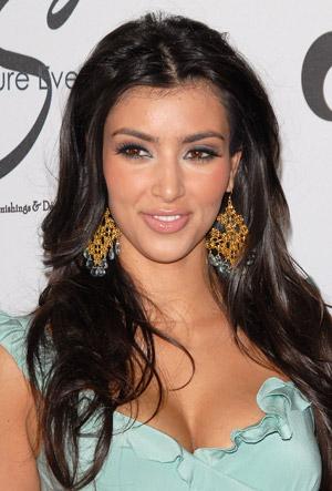 hairstyle oval face_21. kim kardashian