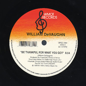 be thankful for what you got Be thankful for what you got by william devaughn(1972)(soul) / [verse 1] f#m7 em7 though you may not drive a great big cadillac f#m7 gangsta whitewalls em7 tv.