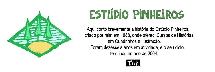 Estúdio Pinheiros - Tak - Cursos de HQ e Ilustração