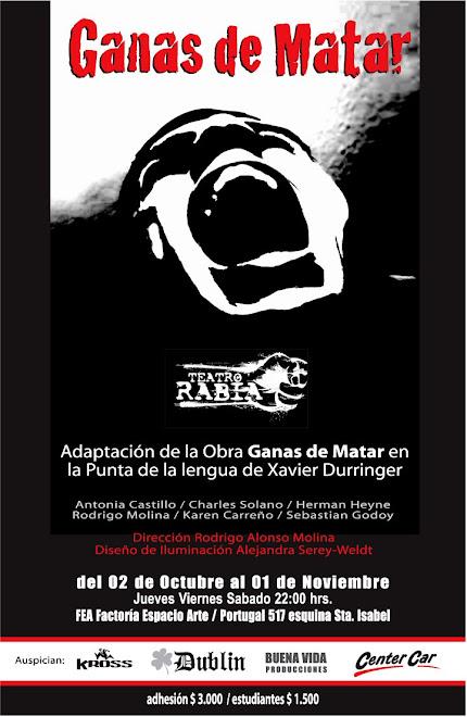"""""""GANAS DE MATAR"""""""