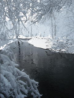 River with Newly Fallen Snow