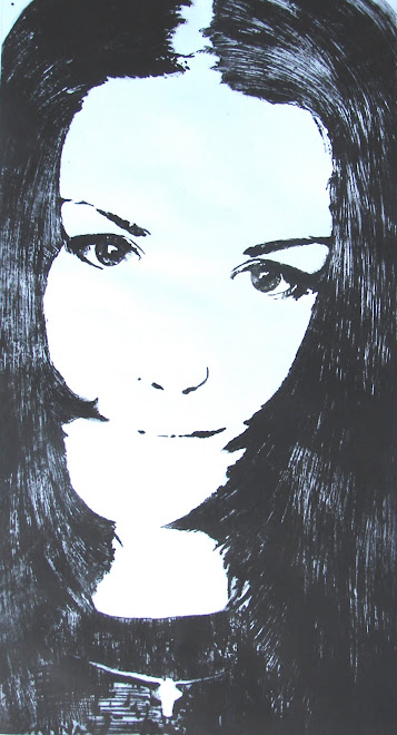 self-portrait 70 x 35 cm