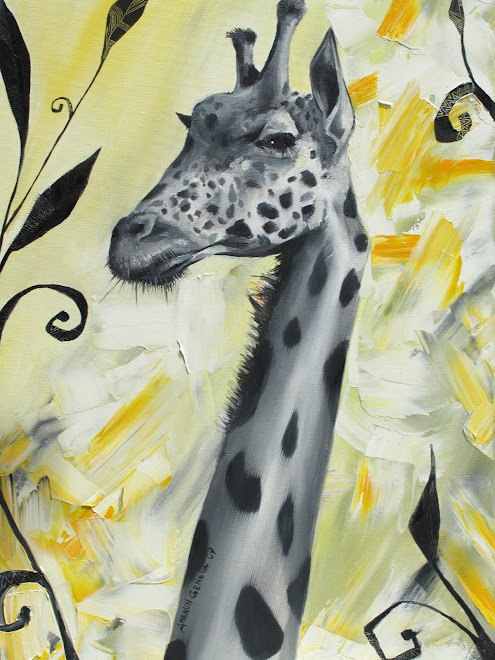 Giraffe 73 x 50 cm