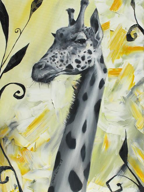 Giraffe 73 x 50 cm