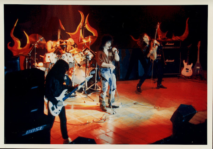 Force en directo. Sala Argenta. Madrid, 1989: