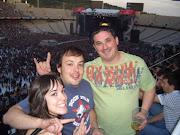 Xurxo y Anduriña López Losada (alumnos) en el concierto de AC/DC
