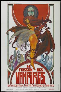 Poster Le Frisson des Vampires - Jean Rollin