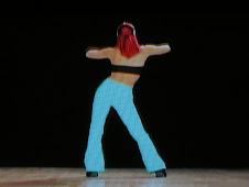 ヤーナ・クニッツの青いパンツ