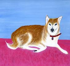おかんの描いたハナ (犬)