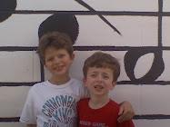 Evan and Blake
