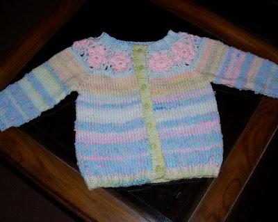 crochet circular yoke cardigan pattern | Crochet it