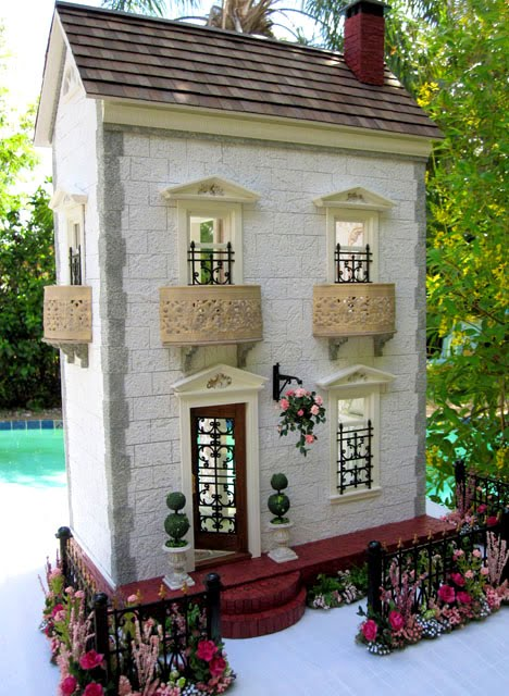 Dollhouses by Robin Carey The Garden Town House