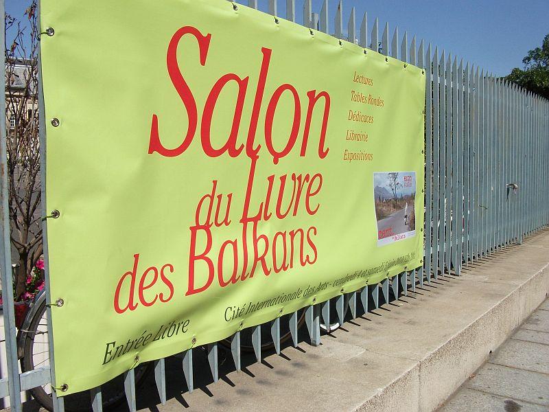 Rivertrain travelling in another language - Salon du livre des balkans ...