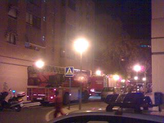 camiones de bomberos