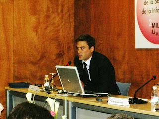 David Moreno en SICARM