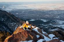 Andrew and Stig on Bear Peak