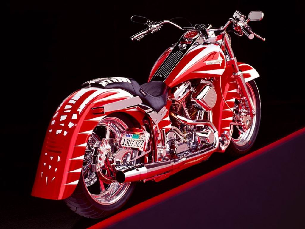 Custom Harley-Davidson Motorcycles HD wallpaper (1024 x 768 )