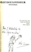 La dedicatoria de Patxi a Kalvellido allá por 1997