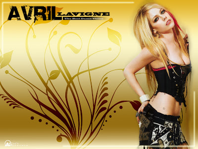 hot bikini wallpaper. Sexy Avril Lavigne Hot Bikini