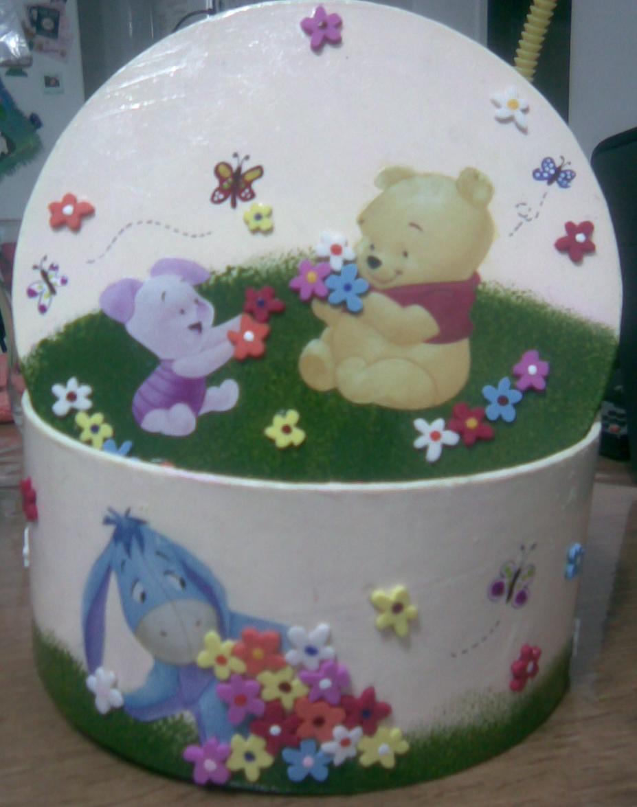 Pinceladitas cajas de carton decoradas - Cajas carton decoradas ...