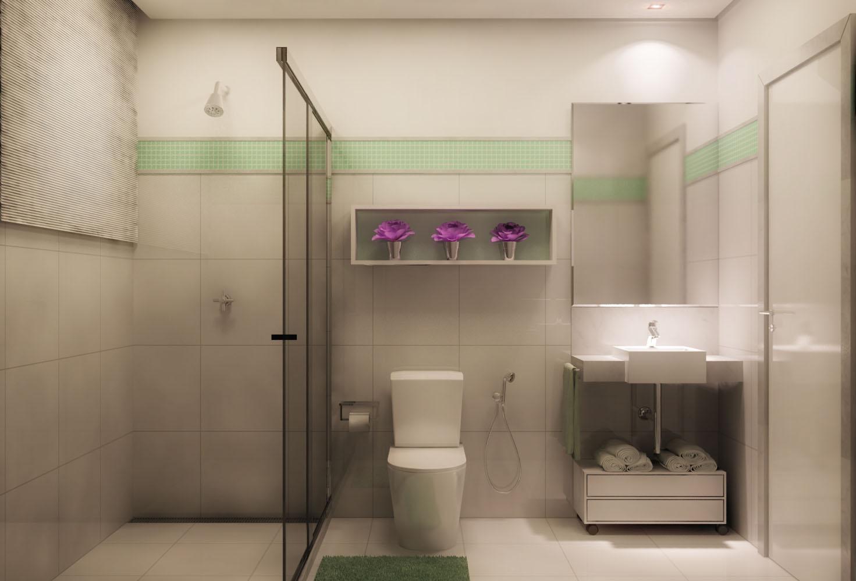 quero uma ideia: Reforma banheiro #82406E 1471 1000