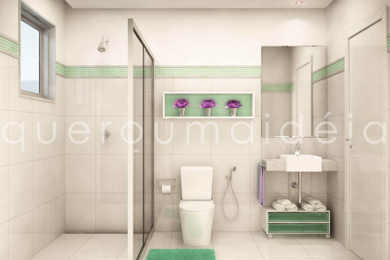 quero uma ideia: Reforma banheiro #814177 1500 1000