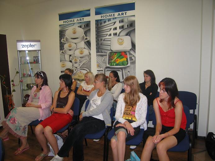 Lekcja o zdrowej diecie z degustacją w firmie Zepter