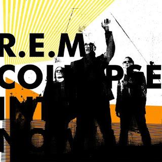 אר אי אם עטיפת אלבום חדש COLLAPSE INTO NOW r.e.m.