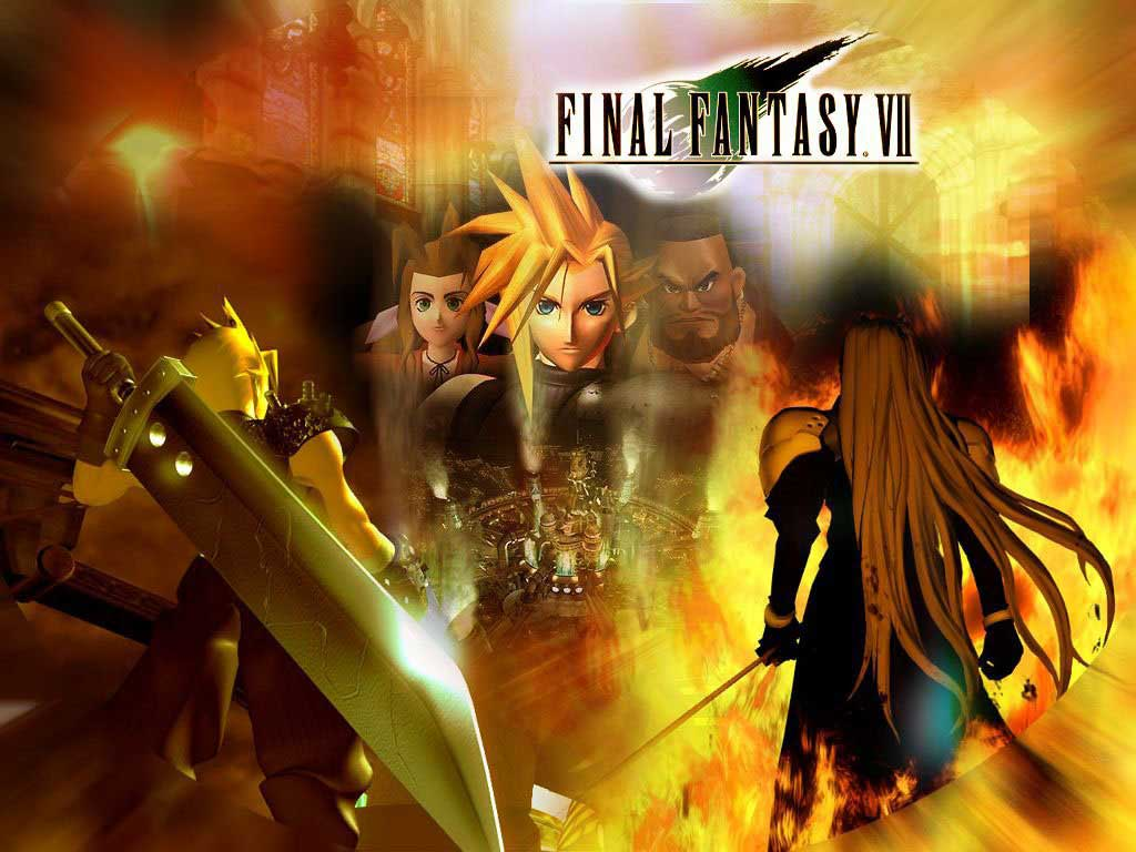 image room online: final fantasy vii - wallpaper actress